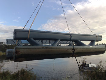 pontoon relocations gold coast