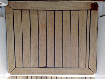 teak deck rejuvenation